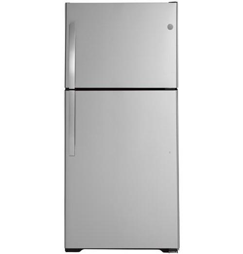 GE® 19.2 Cu. Ft. Top-Freezer Refrigerator - GTS19KSNRSS