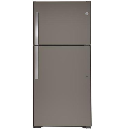 GE® 19.2 Cu. Ft. Top-Freezer Refrigerator - GTS19KMNRES