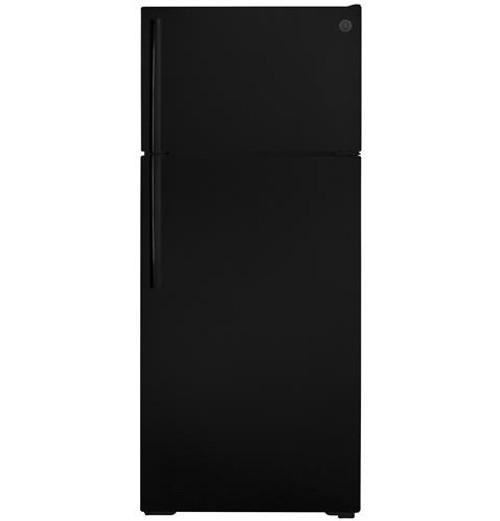 GE® ENERGY STAR® 17.5 Cu. Ft. Top-Freezer Refrigerator GIE18GTNRBB