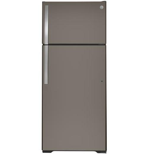 GE® 17.5 Cu. Ft. Top-Freezer Refrigerator - GTS18HMNRES