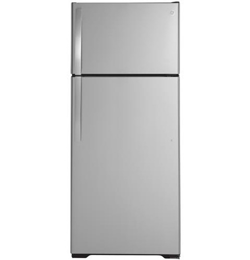 GE® 17.5 Cu. Ft. Top-Freezer Refrigerator - GTS18HSNRSS