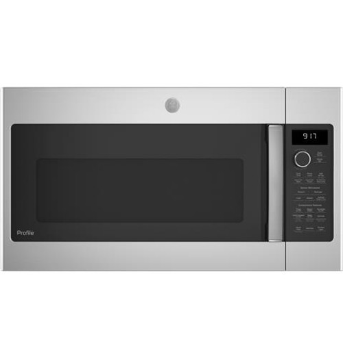 GE Profile™ 1.7 Cu. Ft. Convection Over-the-Range Microwave Oven - PVM9179SKSS