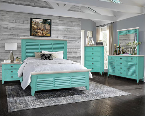9100 Rosalyn Panel Bed