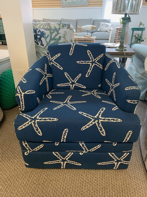 40SW Swivel Chair - Vera Navy Starfish