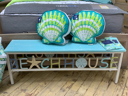 Beachhouse Coastal Bench