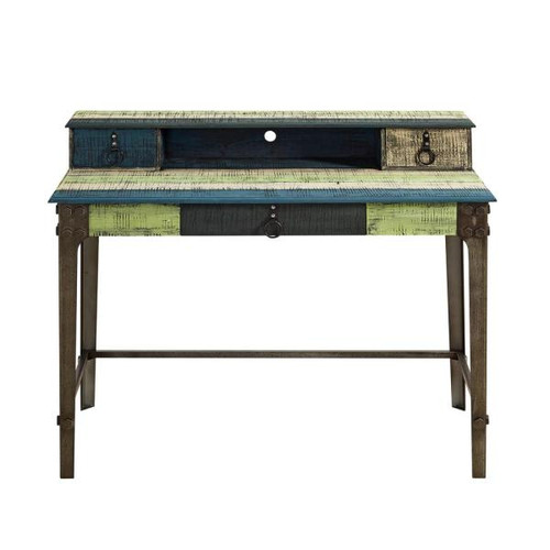 Calypso Industrial Wood Desk