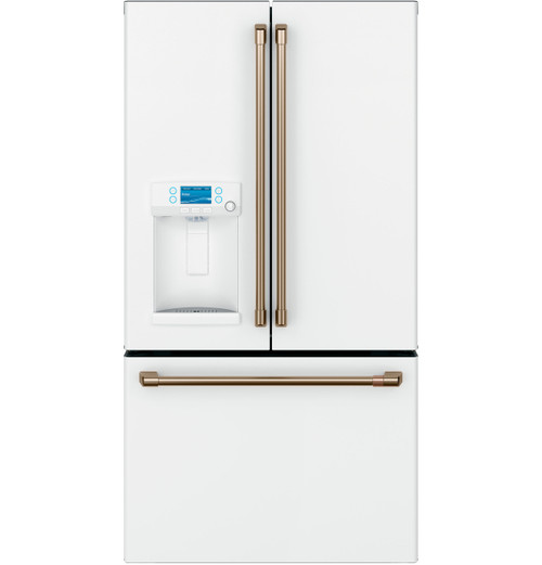 GE Café™ ENERGY STAR® 27.8 Cu. Ft. Smart French-Door Refrigerator with Hot Water Dispenser CFE28TP4MW2