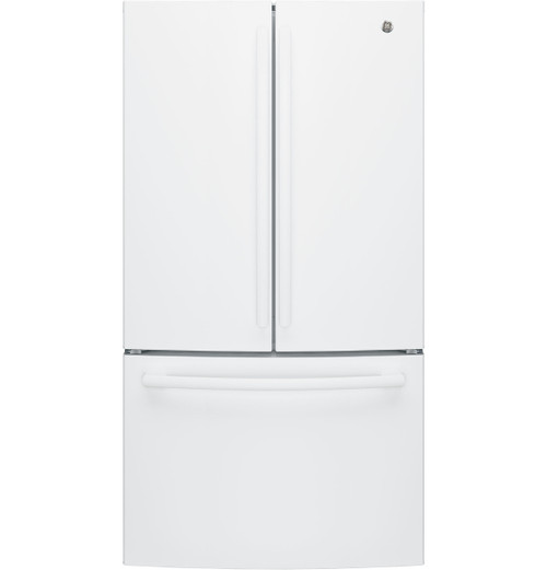 GE® ENERGY STAR® 27.0 Cu. Ft. French-Door Refrigerator GNE27JGMWW