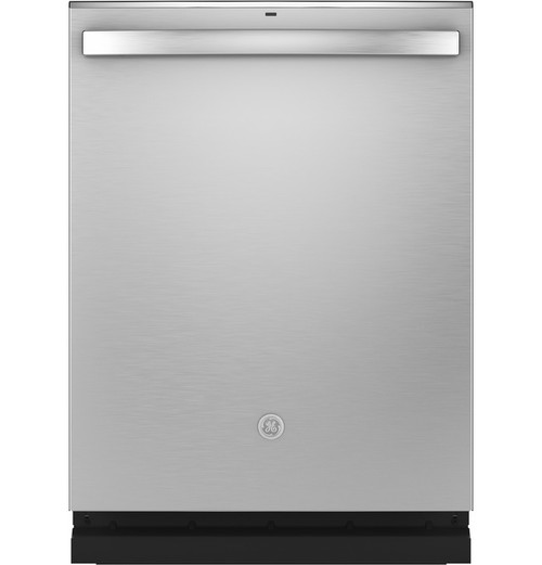 GE® Top Control with Stainless Steel Interior Dishwasher with Sanitize Cycle & Dry Boost with Fan Assist GDT665SSNSS