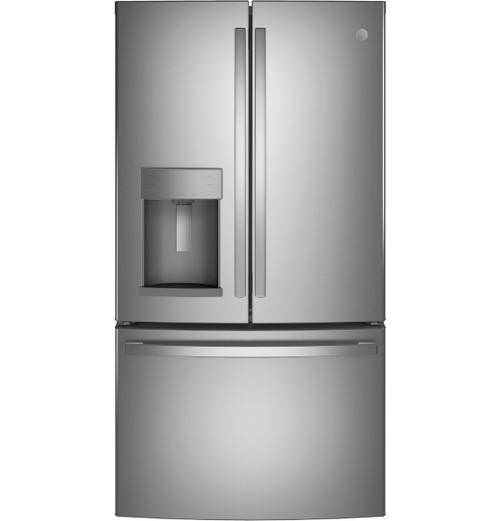 GE® ENERGY STAR® 27.7 Cu. Ft. Fingerprint Resistant French-Door Refrigerator GFE28GYNFS