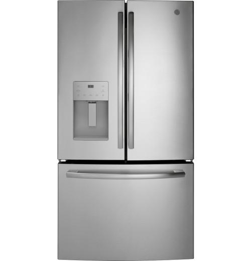 GE® ENERGY STAR® 25.6 Cu. Ft. Fingerprint Resistant French-Door Refrigerator GFE26JYMFS