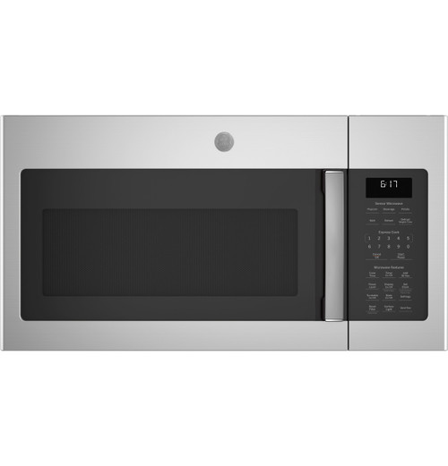 GE® 1.7 Cu. Ft. Over-the-Range Sensor Fingerprint Resistant Microwave Oven JVM6175YKFS
