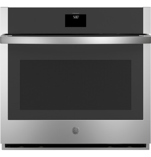 """GE® 30"""" Smart Built-In Self-Clean Convection Single Wall Oven with Never Scrub Racks JTS5000SNSS"""