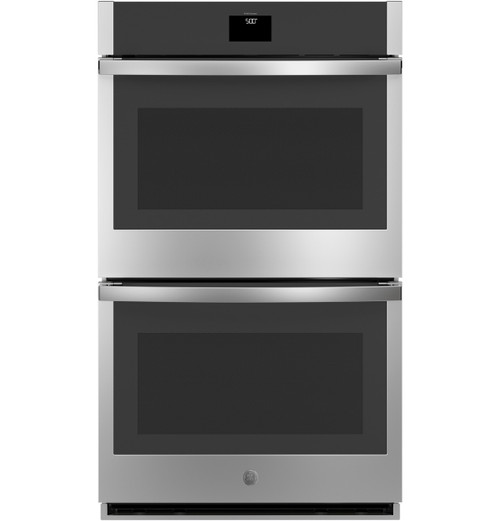 """GE® 30"""" Smart Built-In Self-Clean Convection Double Wall Oven with Never Scrub Racks JTD5000SNSS"""