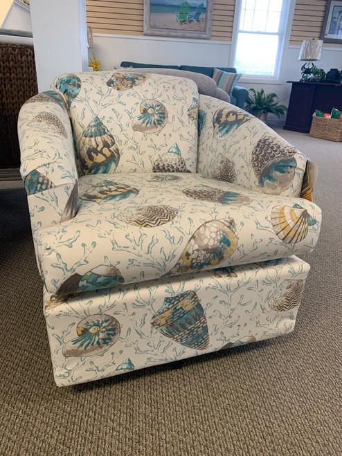 2568 Swivel Chair - 31172 Caribbean Shells