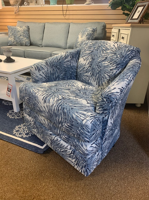 40SW Swivel Chair - Sobe Indigo
