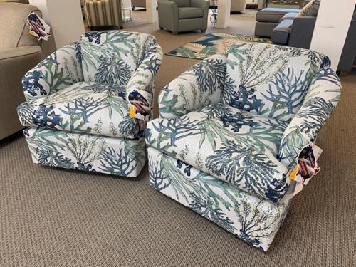 2568 Swivel Chair - 31092 Reef Oceanside
