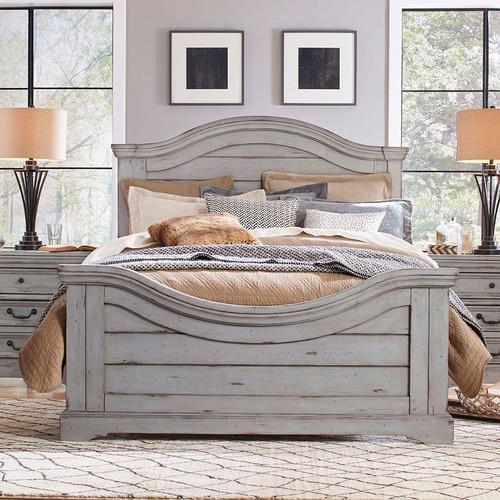 7820 Stonebrook Bed - Antique Gray