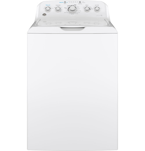 GE® 4.5 DOE cu. ft. stainless steel capacity washer GTW465ASNWW