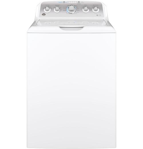 GE® 4.6 DOE cu. ft. stainless steel capacity washer GTW500ASNWS