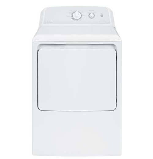 Hotpoint® 6.2 cu. ft. capacity aluminized alloy electric dryer HTX24EASKWS
