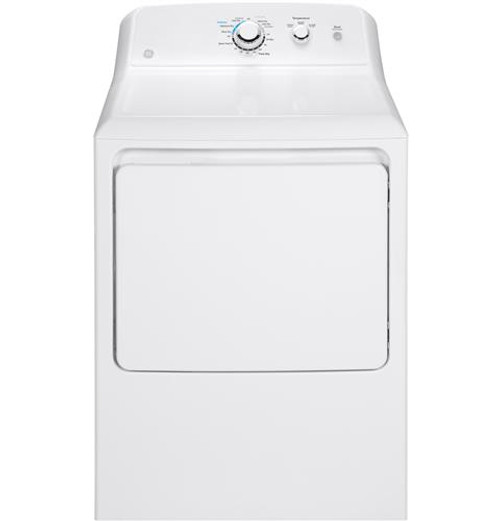 GE® 7.2 CU. FT. CAPACITY ALUMINIZED ALLOY DRUM ELECTRIC DRYER GTD33EASKWW