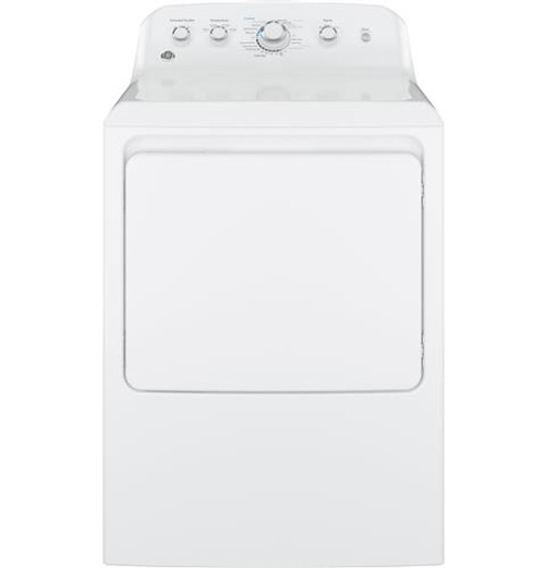 GE® 7.2 CU. FT. CAPACITY ALUMINIZED ALLOY DRUM ELECTRIC DRYER GTD42EASJWW