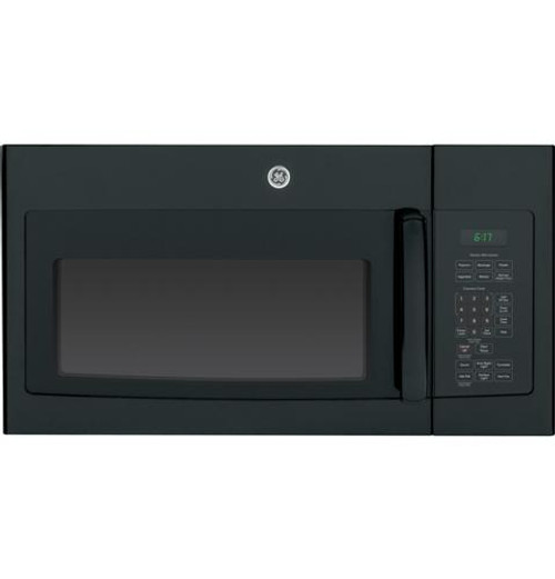 JVM6175DKBB GE® Series 1.7 Cu. Ft. Over-the-Range Sensor Microwave Oven