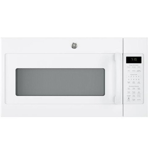 GE® Series 1.9 Cu. Ft. White Over-the-Range Sensor Microwave Oven JVM7195DKWW