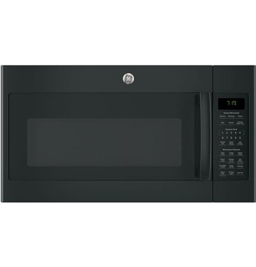 JVM7195DKBB GE® Series 1.9 Cu. Ft. Over-the-Range Sensor Microwave Oven