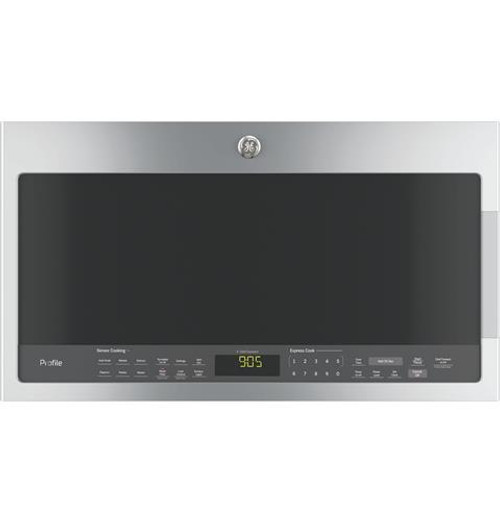 PVM9005SJSS GE Profile™ Series 2.1 Cu. Ft. Over-the-Range Sensor Microwave Oven