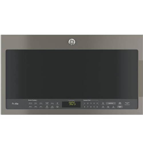 PVM9005EJES GE Profile™ Series 2.1 Cu. Ft. Over-the-Range Sensor Microwave Oven