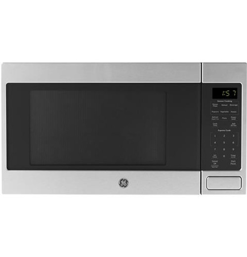 GE® 1.6 Cu. Ft. Countertop Microwave Oven JES1657SMSS