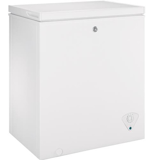 GE® 5.0 Cu. Ft. Manual Defrost Chest Freezer FCM5SKWW