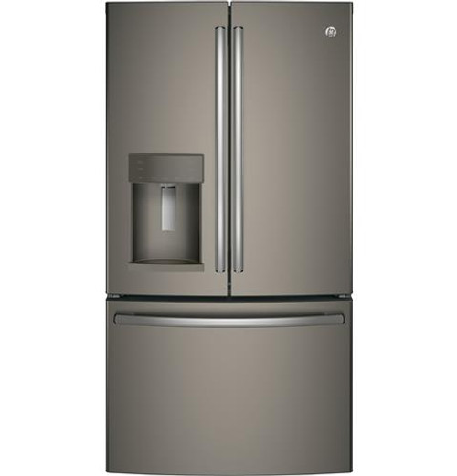 GE® Series ENERGY STAR® 27.8 Cu. Ft. Stainless Steel French-Door Refrigerator GFE28GMKES