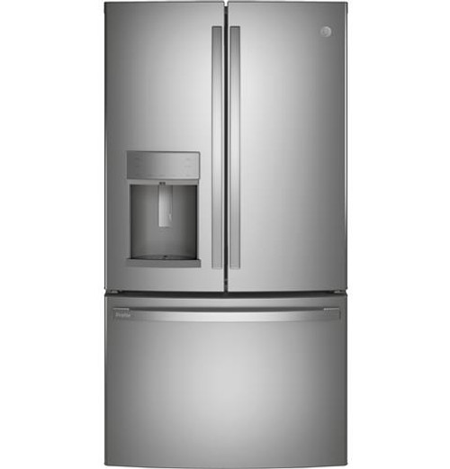 GE Profile™ Series 27.8 Cu. Ft. ENERGY STAR® French-Door Refrigerator with Hands-Free AutoFill PFE28KYNFS