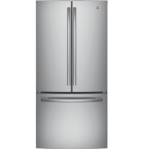 GNE25JSKSS GE® Series ENERGY STAR® 24.8 Cu. Ft. French-Door Refrigerator