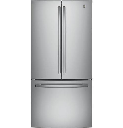 GNE25JSKSS GE® Series ENERGY STAR® 24.8 Cu. Ft. French-Door Refrigerator