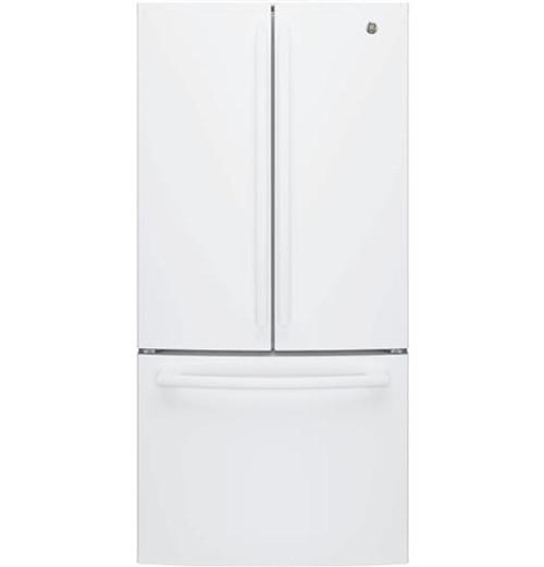 GE® Series ENERGY STAR® 24.8 Cu. Ft. French-Door Refrigerator GNE25JGKWW