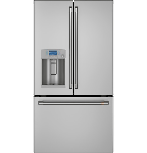 GE Café™ ENERGY STAR® 27.8 Cu. Ft. Smart French-Door Refrigerator with Hot Water Dispenser CFE28TP2MS1