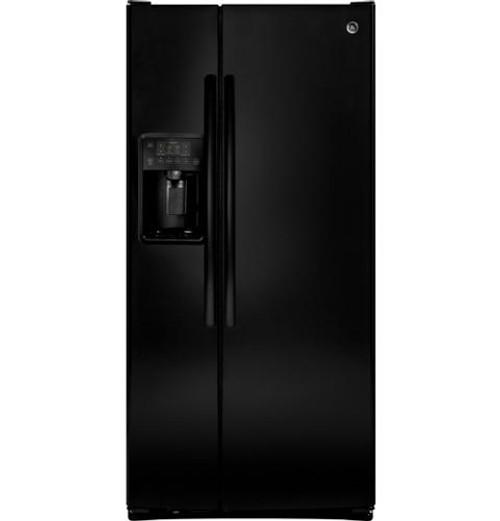 GE 23.2 Cu. Ft. Side-By-Side Refrigerator GSS23GGKBB