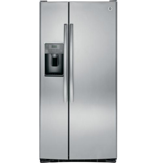 GE 23.2 Cu. Ft. Side-By-Side Refrigerator GSS23GSKSS