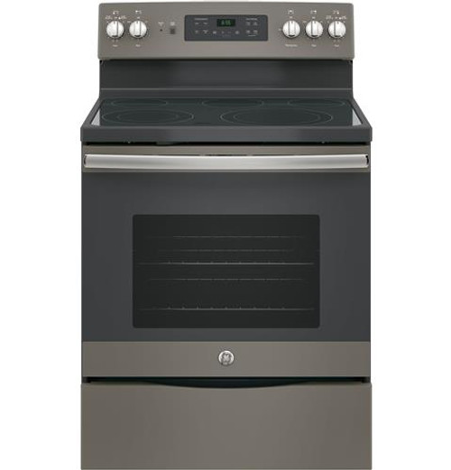 "GE® 30"" FREE-STANDING ELECTRIC CONVECTION RANGE JB655EKES"