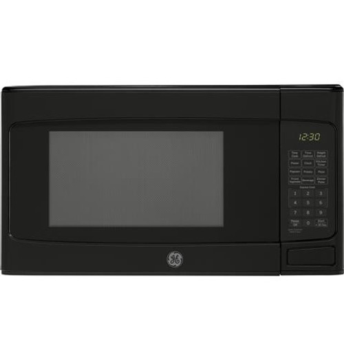 GE® 1.1 Cu. Ft. Capacity Countertop Microwave Oven Black JES1145DLBB
