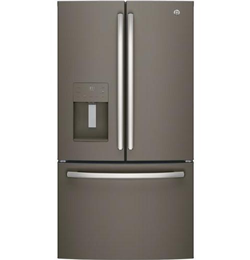 GE® ENERGY STAR® 25.6 Cu. Ft. French-Door Refrigerator GFE26JMMES
