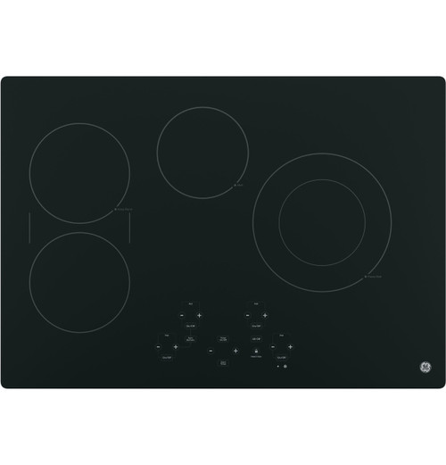 """GE® 30"""" Built-In Touch Control Electric Cooktop - JP5030DJBB"""