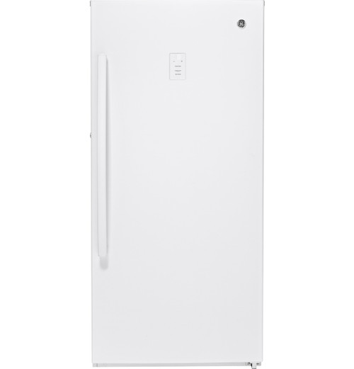 GE® 14.1 Cu. Ft. Frost-Free Upright Freezer FUF14DLRWW