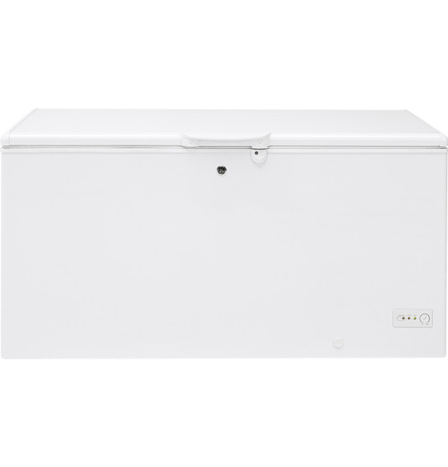 GE® 15.7 Cu. Ft. Manual Defrost Chest Freezer FCM16DLWW