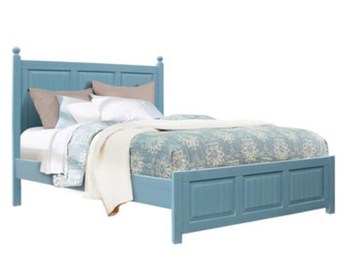 Beachfront Ocean Blue Bed