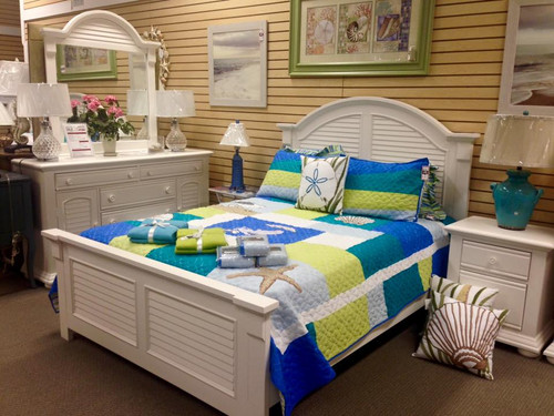Summer House I Collection Bed White